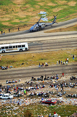 Hurricane Katrina Highway Evacuees