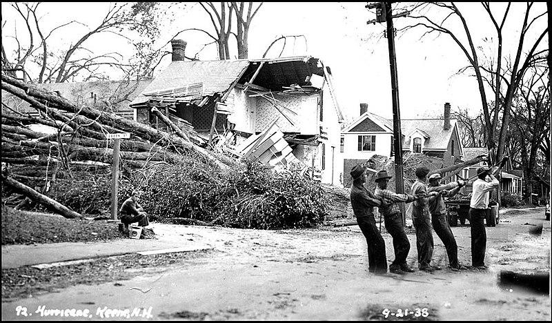 File:Hurricane and Flood of 1938, Keene NH - Cleaning up (2593029704).jpg