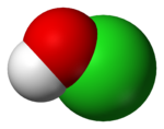 hypochlorous acid space filling
