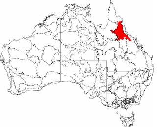 Einasleigh Uplands - Einasleigh Uplands bioregion, defined by the IBRA 7.