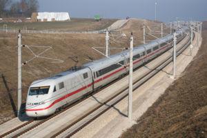 ICE 2 - ICE 2 on the Nuremberg-Ingolstadt high-speed railway line