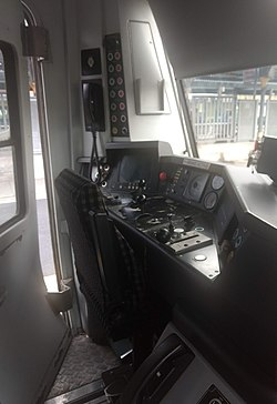 The Drivers Cabin of a 29000 Class unit