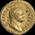 INC-1601-a Ауреус Тит цезарь ок. 75 г. (аверс).png