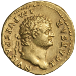 INC-1601-a Ауреус Тит цезарь ок.  75 г.  (аверс) .png