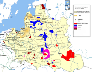 Magnates of Poland and Lithuania - Possessions of Polish magnates in 16th-17th centuries