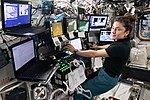 ISS-61 EVA-4 (b) Jessica Meir at the robotics workstation.jpg