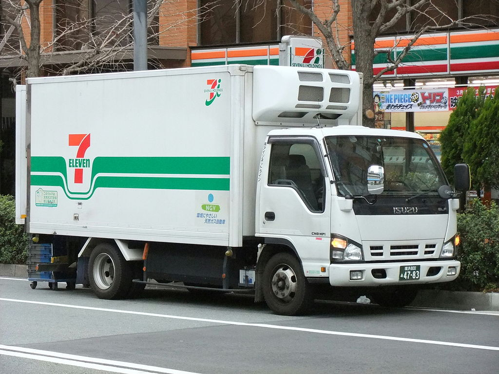 File Isuzu Elf 5th Gen Wide Cab Type 7 Eleven Later