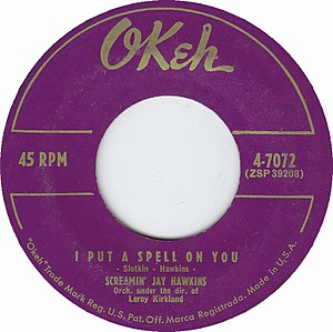 I Put a Spell on You - Image: I Put a Spell on You by Screamin' Jay Hawkins US vinyl