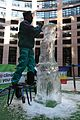 Ice sculptor at climate change action (4029959702).jpg
