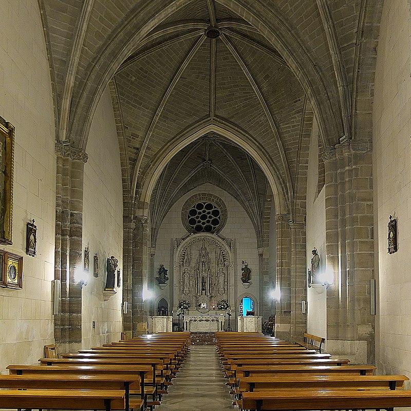 Iglesia de Santa Águeda (Burgos). Interior.jpg