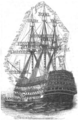 Illustrirte Zeitung (1843) 20 309 2 Besuch der Königin auf der Caledonia.png