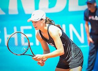 Ilona Kremen Belarusian tennis player