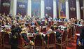 Ilya repin, seduta cerimoniale del consiglio di stato il 7 maggio 1901, nel centenario della sua fondazione, 1903, dett.JPG