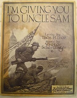 Im Giving You to Uncle Sam song composed by Victor Schertzinger