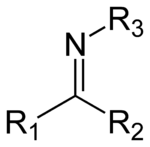 The general structure of an imine