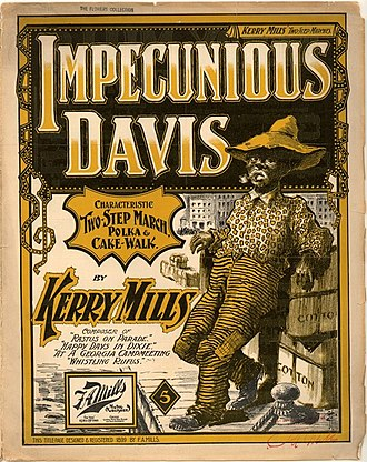 1899 in music - Image: Impecunious Davis Mills