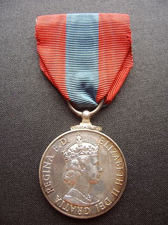 Imperial Service Order - Image: Imperial Service Medal obverse