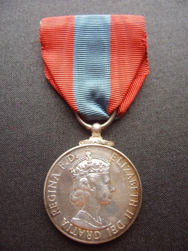 Imperial Service Medal obverse