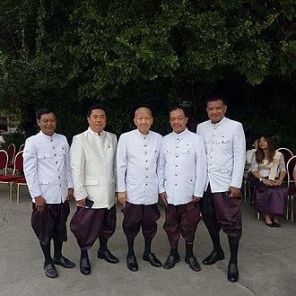 Norodom Ekcharin - Image: In royal palace phnom penh