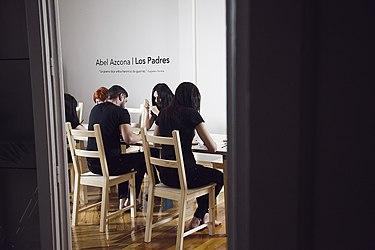 """Inauguración de la exposición """"Los Padres"""" del artista Abel Azcona en Madrid - 2.jpg"""