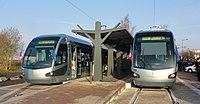 Inauguration de la branche vers Vieux-Condé de la ligne B du tramway de Valenciennes le 13 décembre 2013 (108).JPG