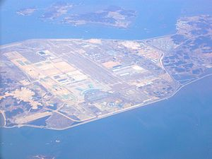 Incheon International Airport - Incheon Airport from the air, 2013