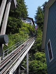Inclined elevator in Ketchikan, Alaska 3.jpg