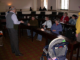 Independence National Historical Park Volunteer talk 0307.jpg