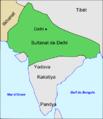 India - Sultanat de Delhi vèrs 1310.png