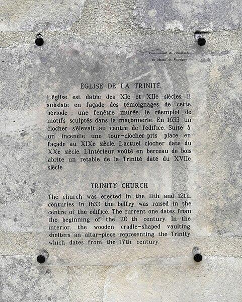 église de la Trinité, Roullée, Villeneuve-en-Perseigne, 72600, France