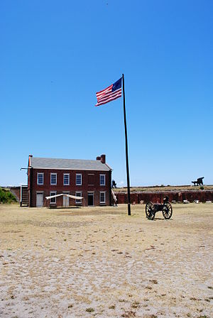 Fernandina Beach, Florida - Inside Fort Clinch