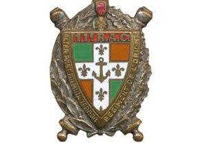 11th Marine Artillery Regiment - Image: Insigne régimentaire du 11e Régiment d'Artillerie Coloniale