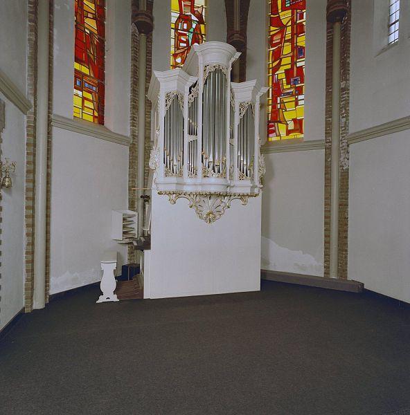 File interieur aanzicht orgel orgelnummer 1665 wijk for Interieur appartement aan zee