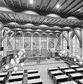Interieur nieuwe statenzaal met paneelschilderingen, vanaf balkon - Zwolle - 20350610 - RCE.jpg