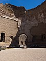 Interior walls of the Baths of Caracalla in Rome, 2016 (28943031656).jpg
