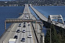 Interstate 90 floating bridges after Blue Angels performance - 02.jpg