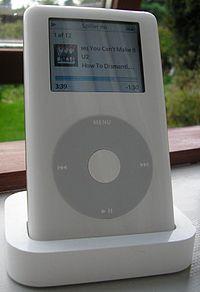 4th Generation iPod photo (2004).