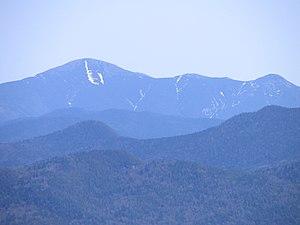 Iroquois Peak - Iroquois Peak (right), Algonquin (left)  from Ampersand