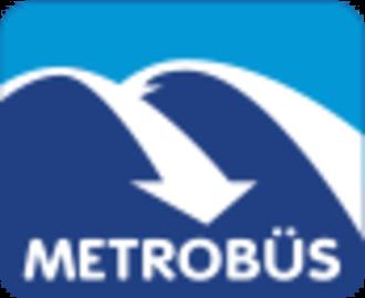 Metrobus (Istanbul) - Image: Istanbul Metrobus Official Logo