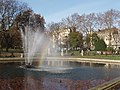 Italian Fountains, rainbow and Bayswater Road - geograph.org.uk - 313057.jpg