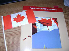 Bandera De Canadá Wikipedia La Enciclopedia Libre