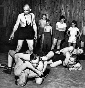 Ivar Johansson (wrestler) - Image: Ivar Johansson