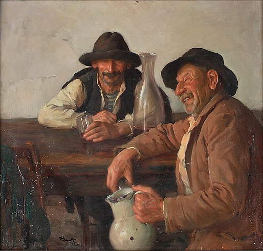 Ivar Kamke Drinking men