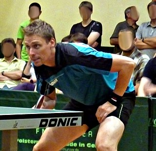 Jörgen Persson Swedish table tennis player