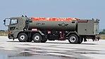 JASDF 2000-gallon aircraft refueller truck(Hino Profia, 47-3475) left rear view at JASDF Miho Air Base May 28, 2017.jpg