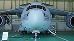 JASDF C-2(68-1203) fuselage section front view at Miho Air Base May 28, 2017.jpg