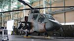 JGSDF OH-1(32603) Low-angle View at Camp Akeno October 2, 2016.jpg
