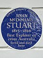 JOHN MCDOUALL STUART 1815-1866 First Explorer to cross Australia lived and died here.jpg