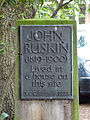 JOHN RUSKIN (1819-1900) Lived in a house on this site (med).jpg