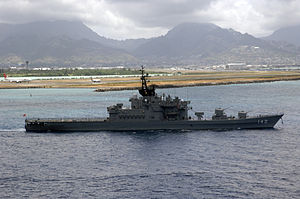 JS Hiei departs from Pearl Harbor, -5 Jul. 2006 a.jpg